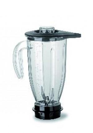 Vaso 2 P, con cuchilla para hielo