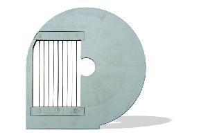 Rejillas B y D combinables con discos E