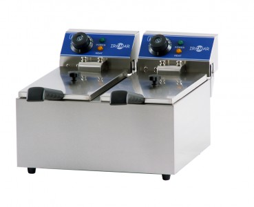 ELECTRIC FRYERS, DOUBLE TANK, FRY-8+8