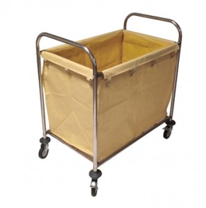 CLOTHES COLLECTION TROLLEY