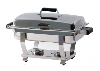 CHAFING DISHES, CON TAPA EXTRAIBLE, CHD-TE